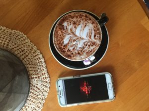 Chilli hot chocolate from Tootsie - Yass Valley Cafes