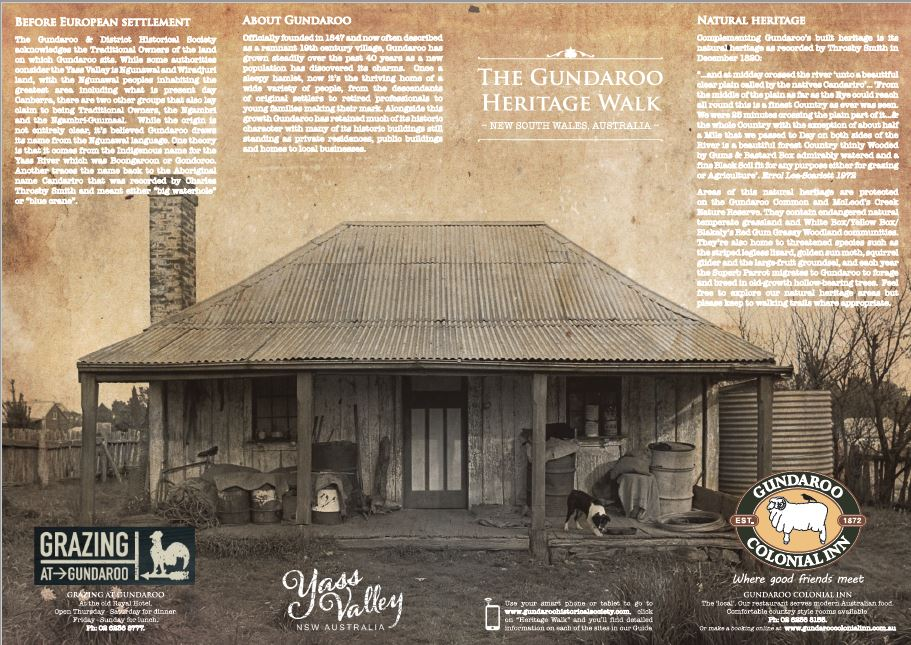 Image for The Gundaroo Heritage Walk