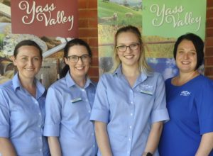 Yass Valley Information Centre Staff - Yass Valley Heritage Tour bookings